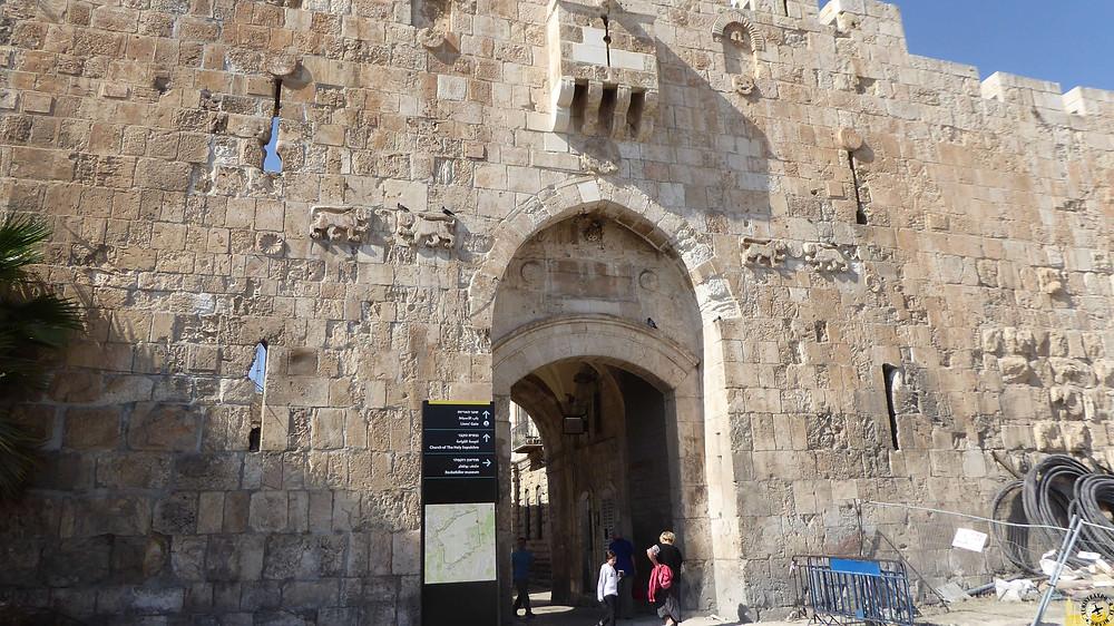 Jerusalén. Puerta de los leones