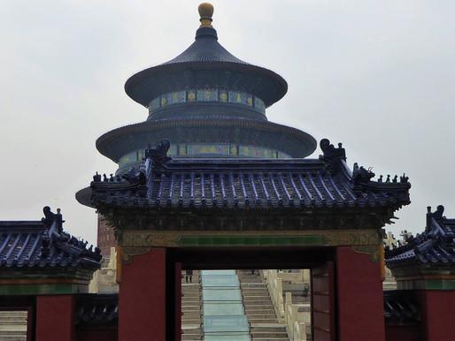 Templo del cielo (UNESCO). Pekín o Beijing (China)