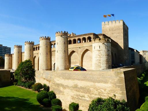 El Palacio de la Aljaferia de Zaragoza. Aragón