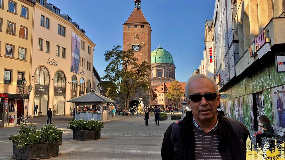 Nüremberg (Alemania). Plaza de Ludwig