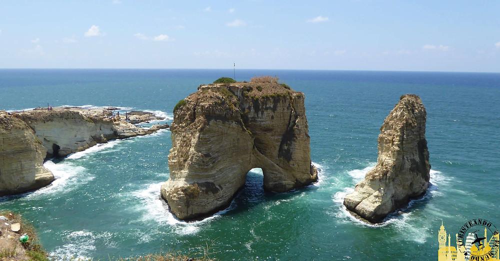 Beirut. La Raouche (Líbano)