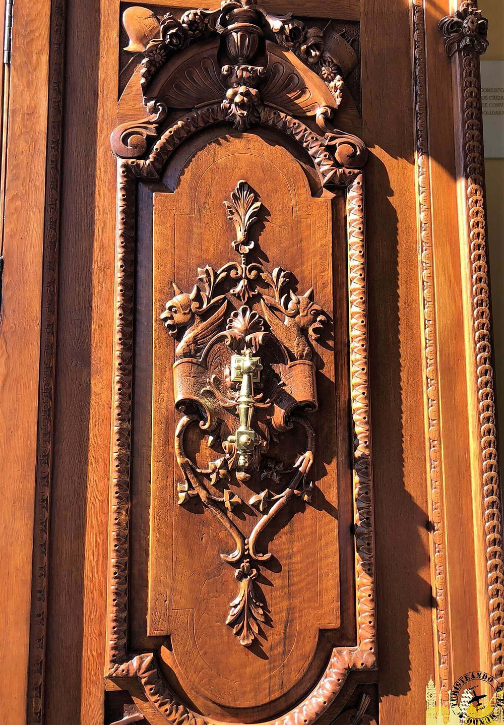 Tomelloso (Castilla la Mancha). Puerta Ayuntamiento