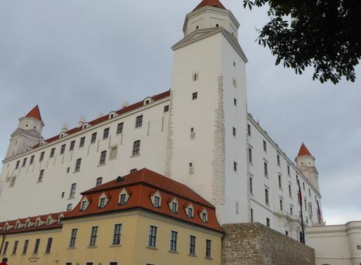 El castillo de Bratislava (Eslovaquia)