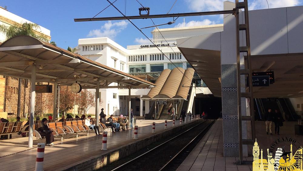 Estación tren Rabat (Marruecos)