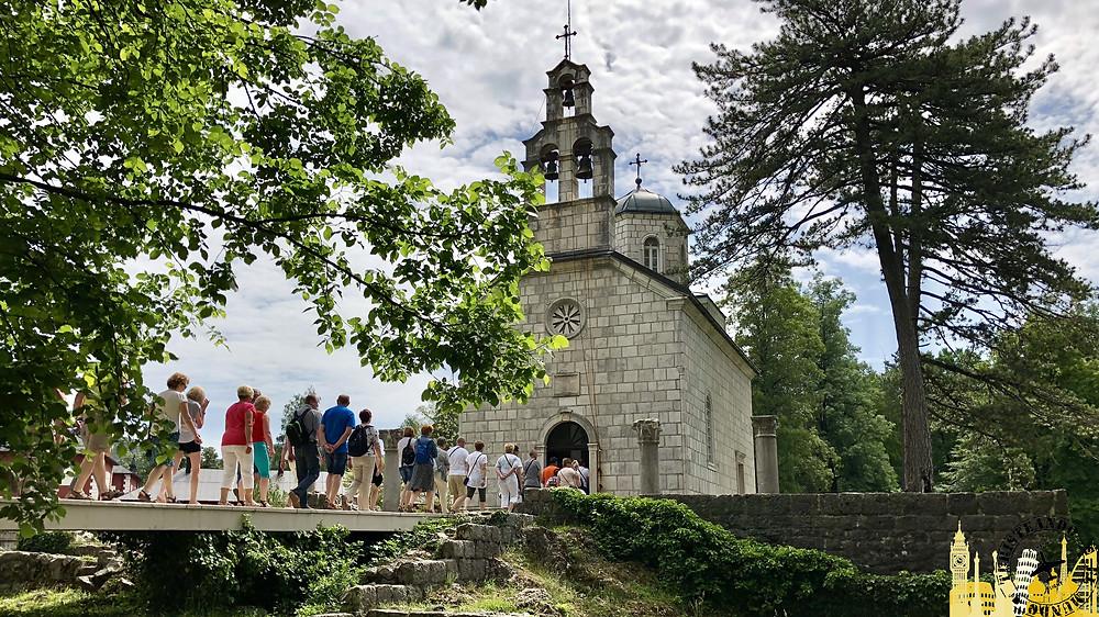 Iglesia de la Corte. Cetiña (Montenegro)