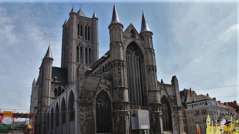 Iglesia de San Nicolás. Gante (Bélgica)