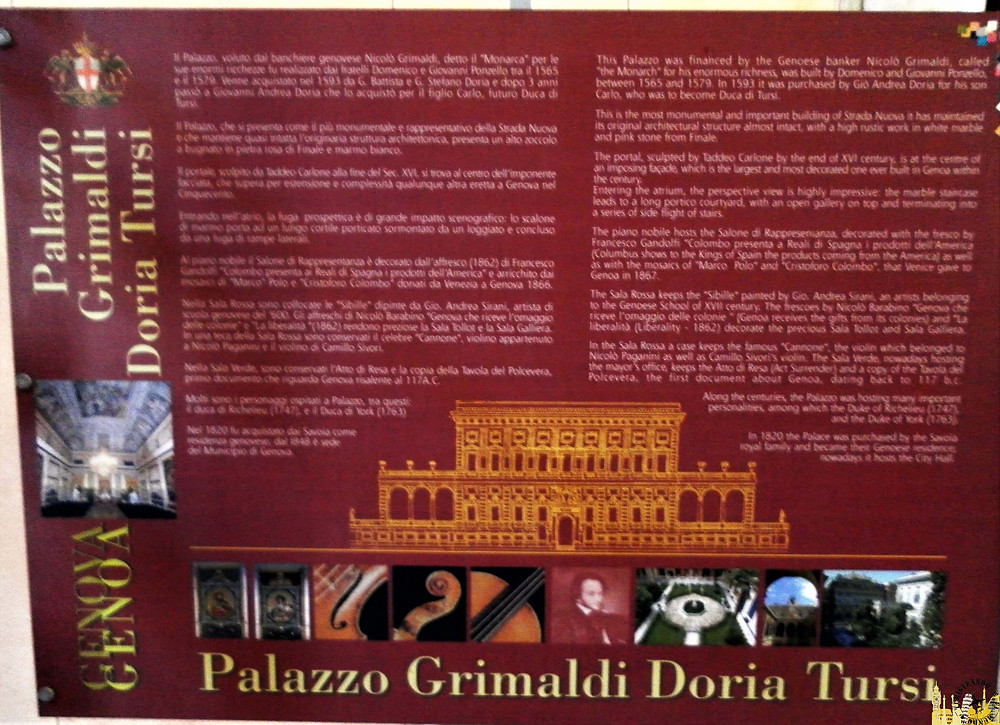 Palazzi dei Rolli (Génova). Italia