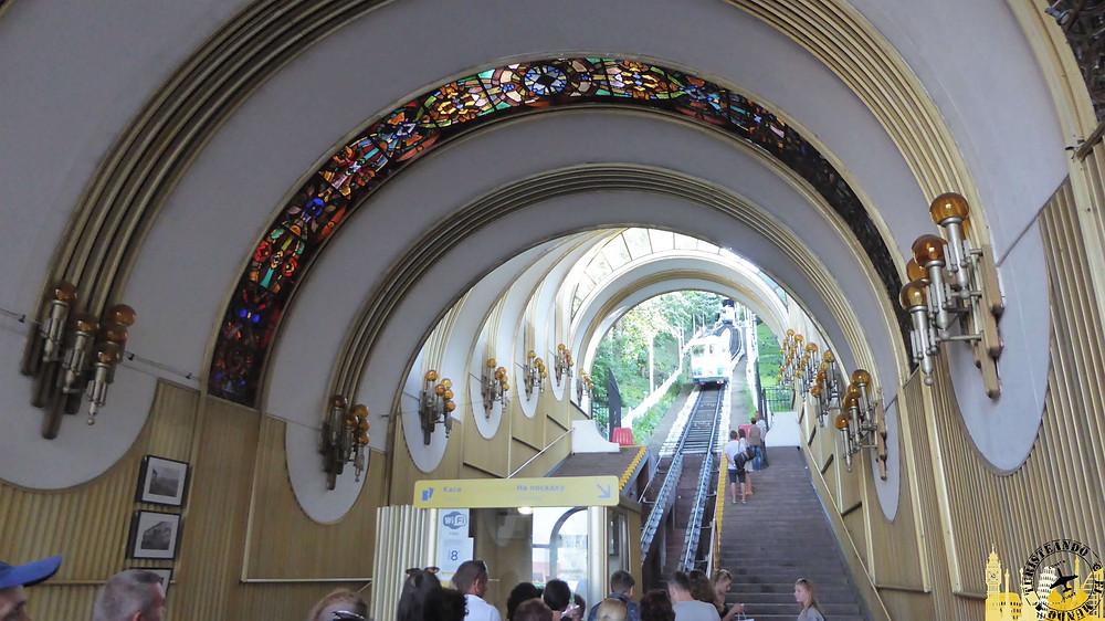 Funicular, Kiev (Ucrania)