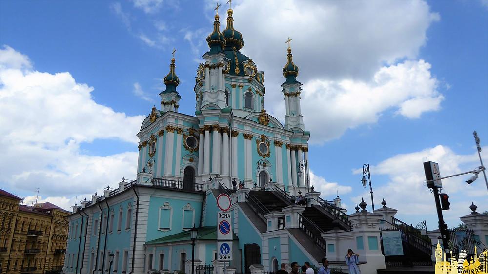 Iglesia de San Andrés, Kiev (Ucrania)