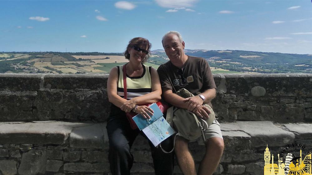 Mirador de Cordes sur ciel (Francia)