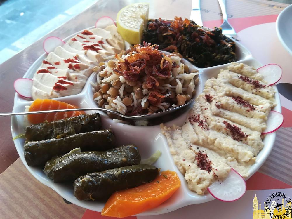 Cocina libanesa