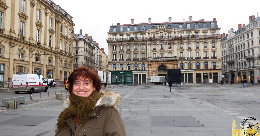 Plaza de Terreaux. Lyon (Francia)