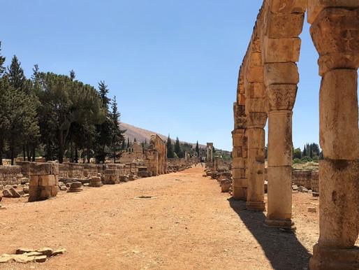 Anjar, la ciudad omeya del Líbano (Unesco).