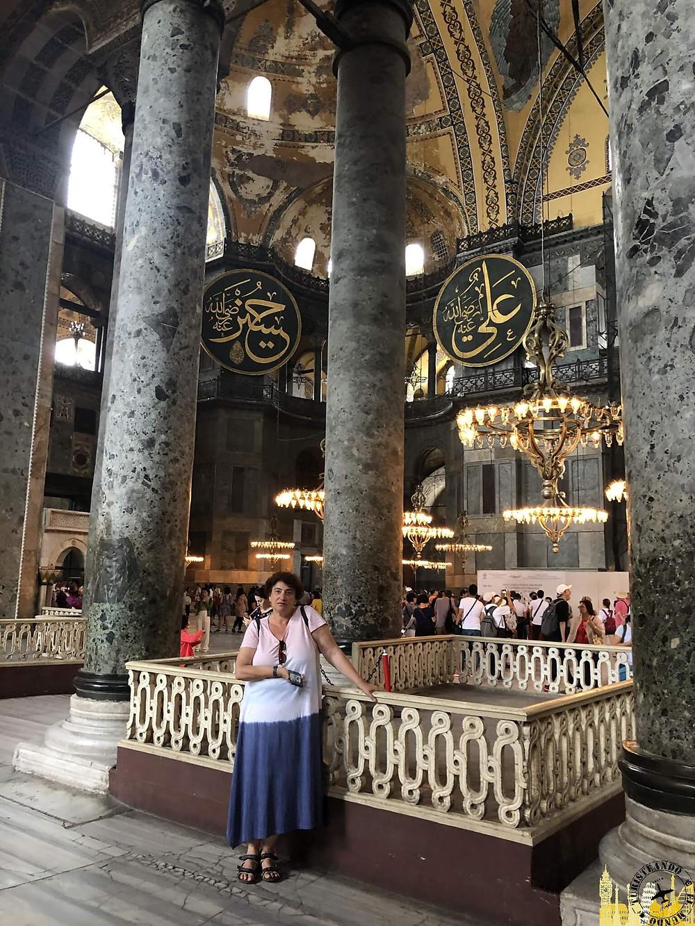 Santa Sofía en Estambul, Turquía