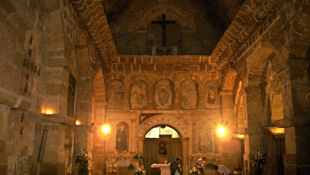 Iglesia San Nicolás. Agrigento (Italia)