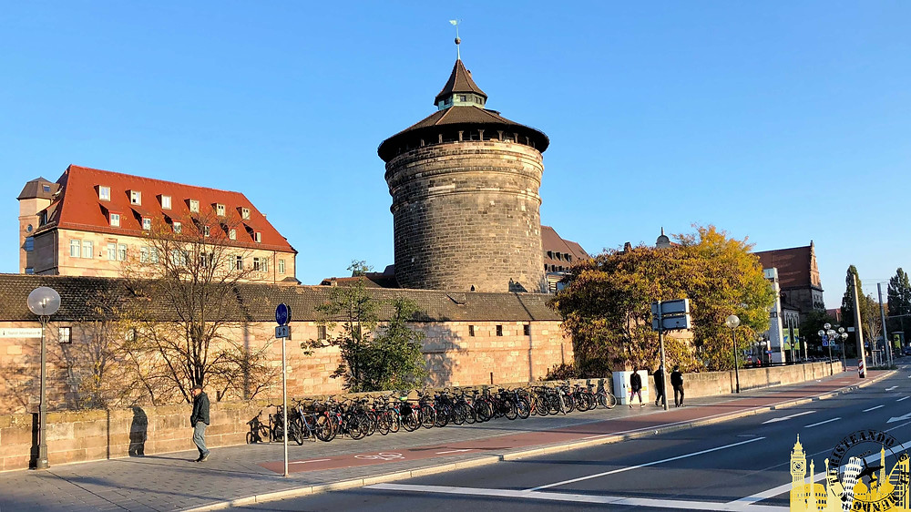 Nüremberg (Alemania). Muralla medieval