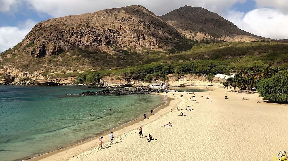 Cabo Verde. Playa de Tarrafal