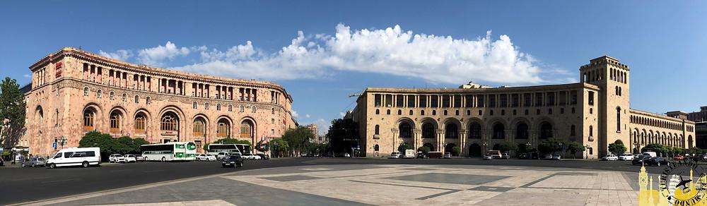 Plaza de la República. Ereván