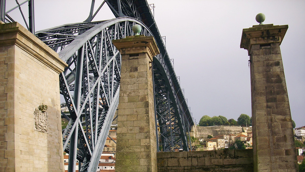 Puente Luis I. Oporto (Portugal)