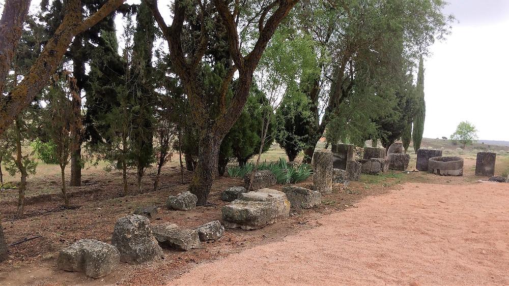 Segóbriga (Cuenca). España. Ruinas romanas