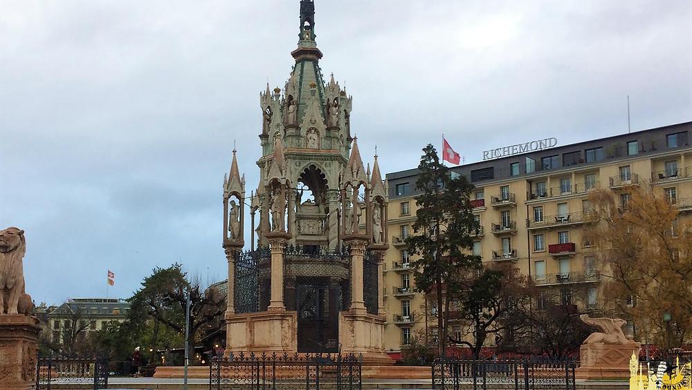 Monumento a Brunswick, Ginebra (Suiza)