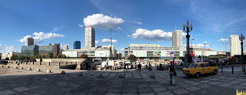 El Palacio de Cultura y las Ciencias, Varsovia (Polonia)