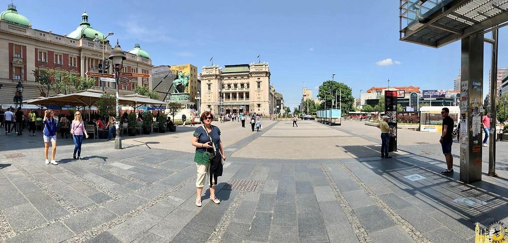 Plaza República. Belgrado