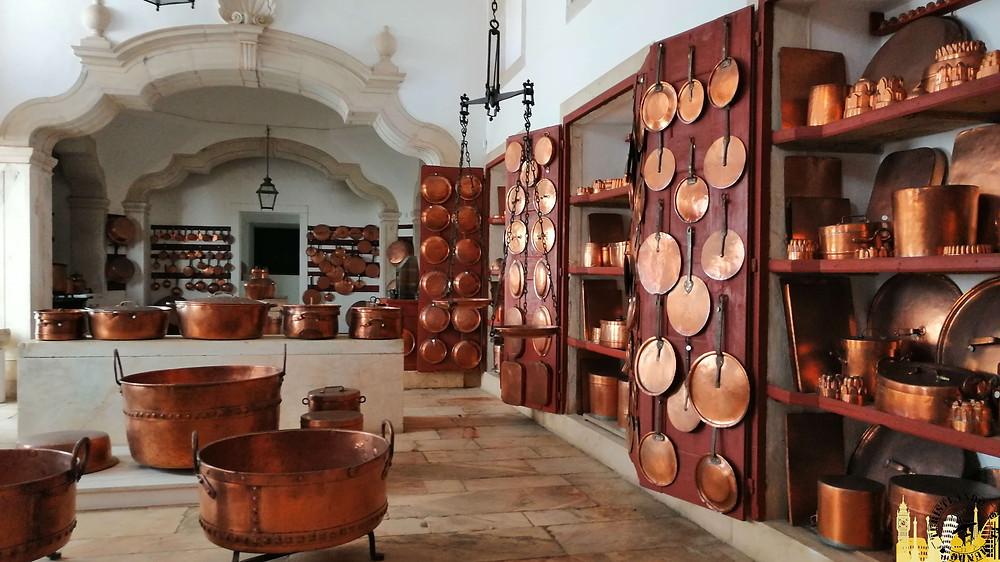 Cocinas Palacio Ducal Vila Viçosa (Portugal)