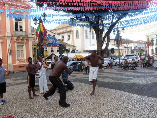 El Círculo de Capoeira (UNESCO). Arte marcial afro-brasileño, Salvador de Bahía (Brasil)