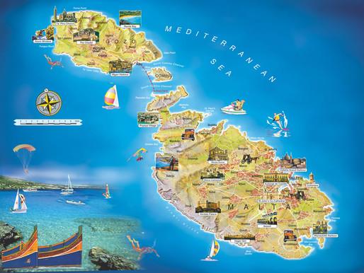 Viaje a Malta. Belleza mediterránea a tope. Introducción y preparación del viaje.
