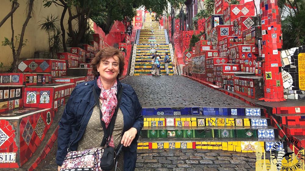 Escalera de Selarón. Río de Janeiro (Brasil)