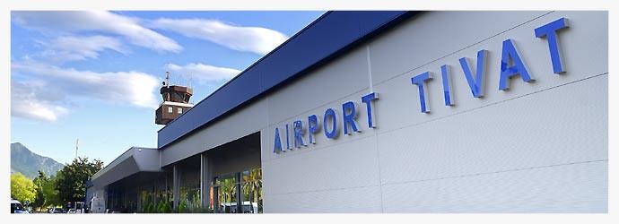 Aeropuerto de Tivat (Montenegro)