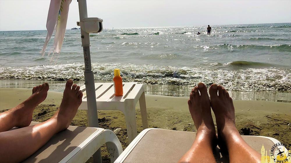 Lárnaca. Playas