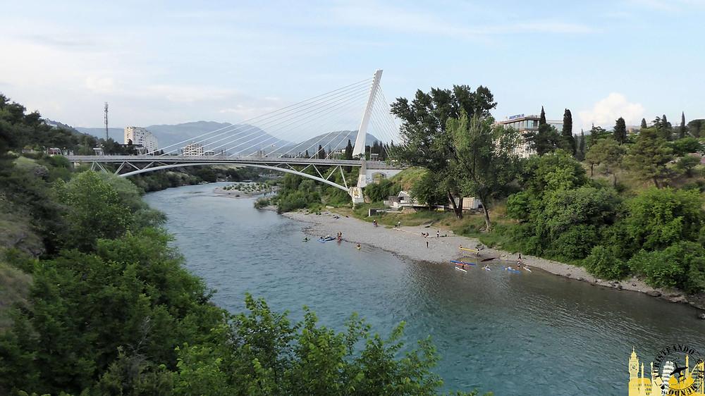Puente Millenium. Podgorica (Montenegro)