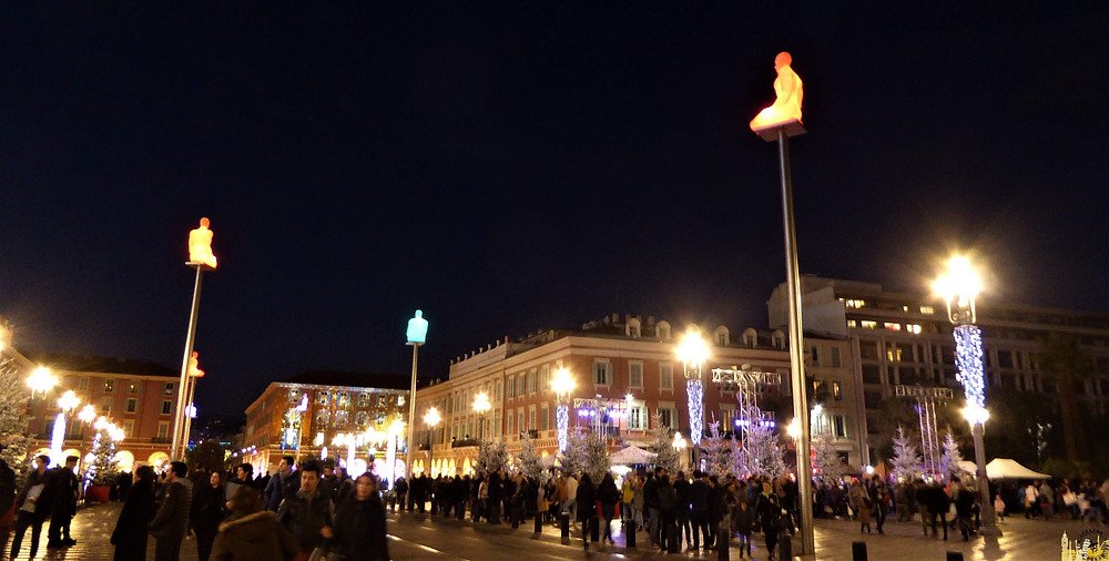 Plaza Massena, Niza (Francia)