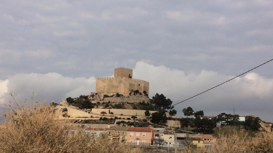 Castillo de Petrer (Alicante)