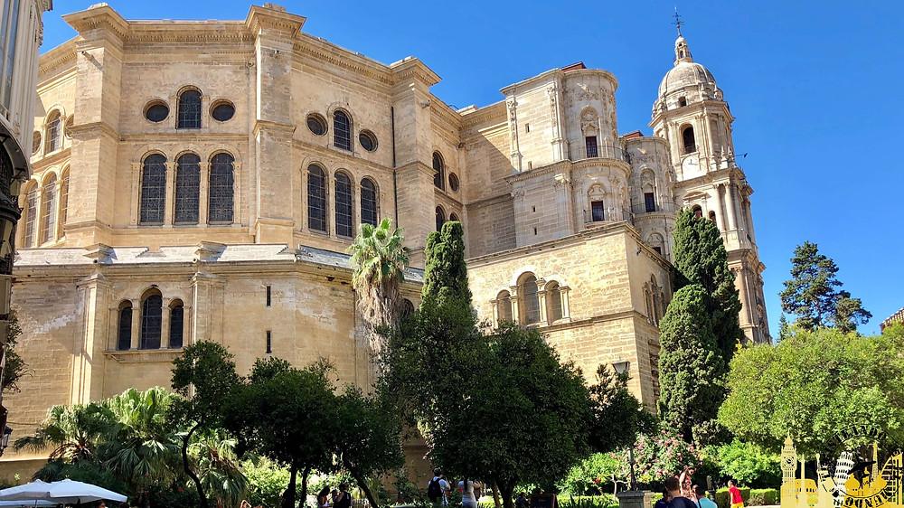Catedral de Málaga, España