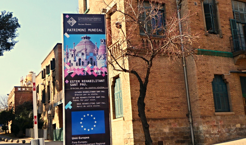 Recinto Hospital Sant Pau (Barcelona)