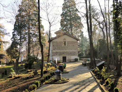 Visita a la iglesia de Boyana (UNESCO). BULGARIA