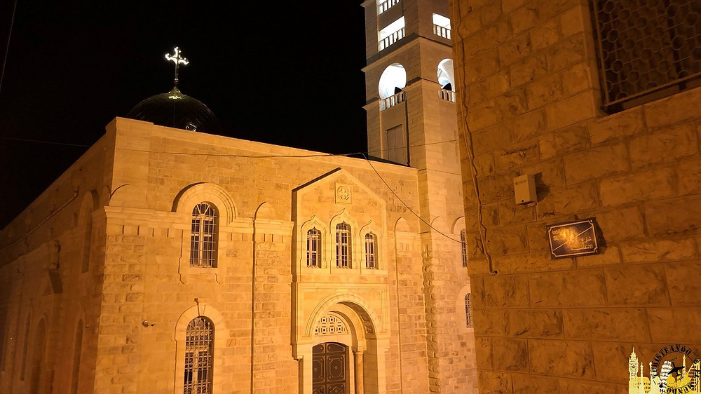 Iglesia de San Nicolás. Beit Jala (Palestina)