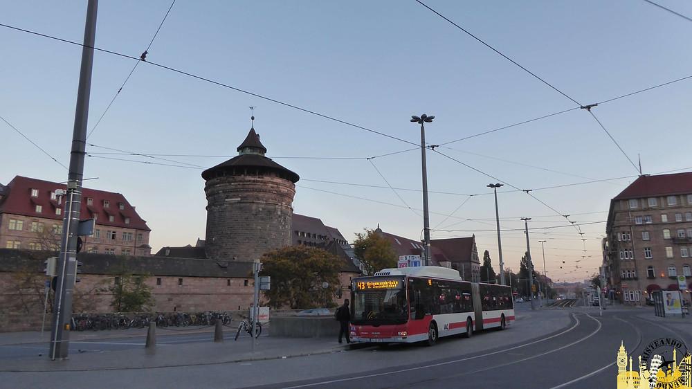 Transporte público Nüremberg. Baviera (Alemania)