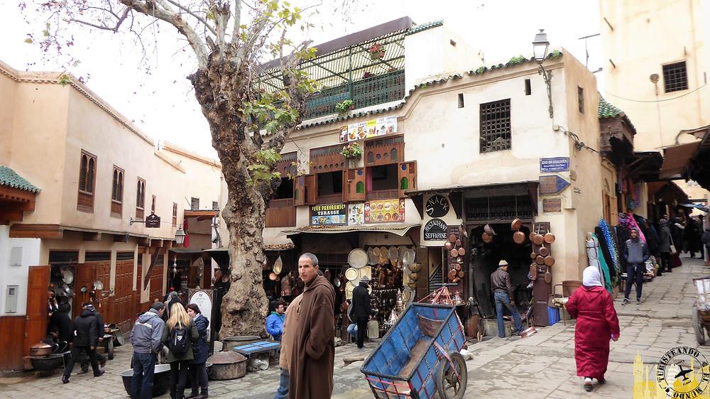Paza de Seffarine, Fez (Marruecos)