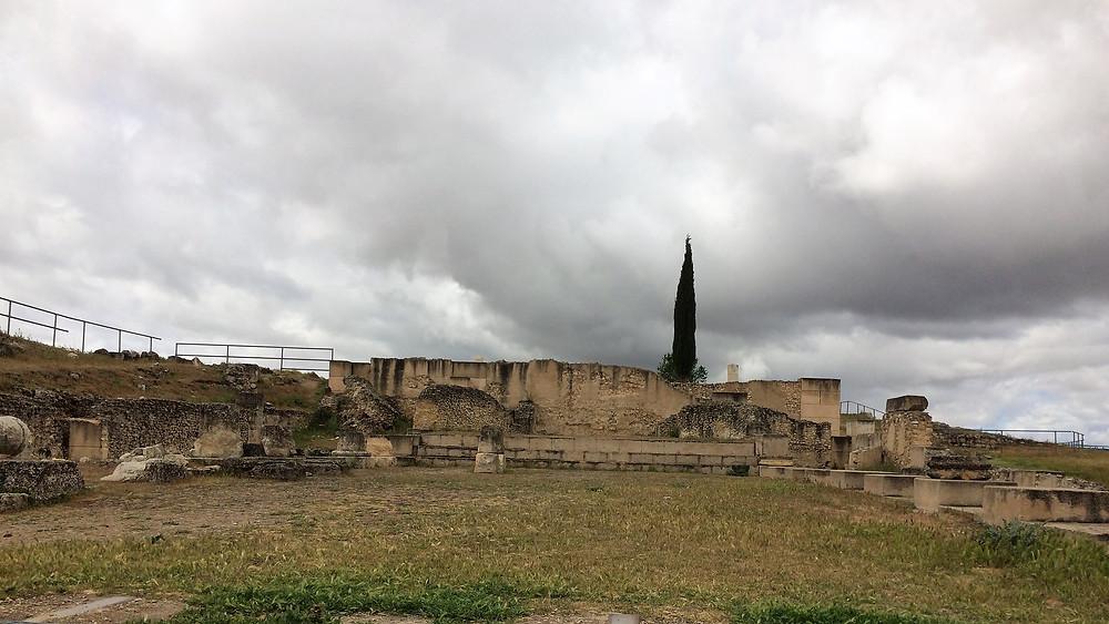 Segóbriga (Cuenca). España. Termas