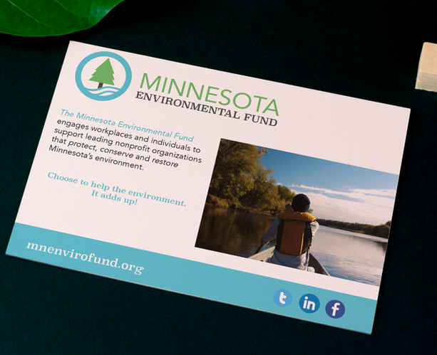 Minnesota Environmental Fund - A Multi-Touchpoint Way to Engage the Younger Audience.