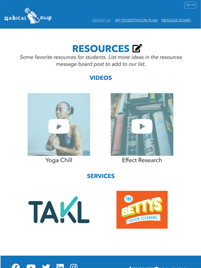 Editable Resources
