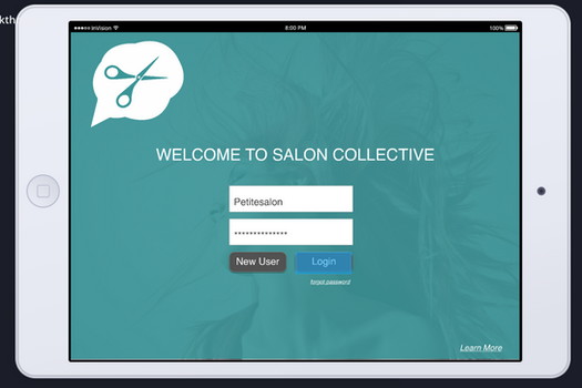 Salon Collective POS - A POS for The Modern Chair Rental Salon.