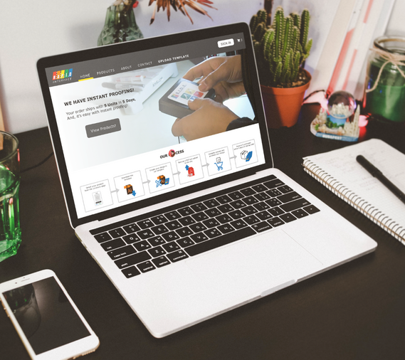 Rapid Interface - An Industrial Printing Website for Busy Engineers.