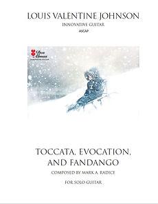 Toccata, Evocation and Fandago
