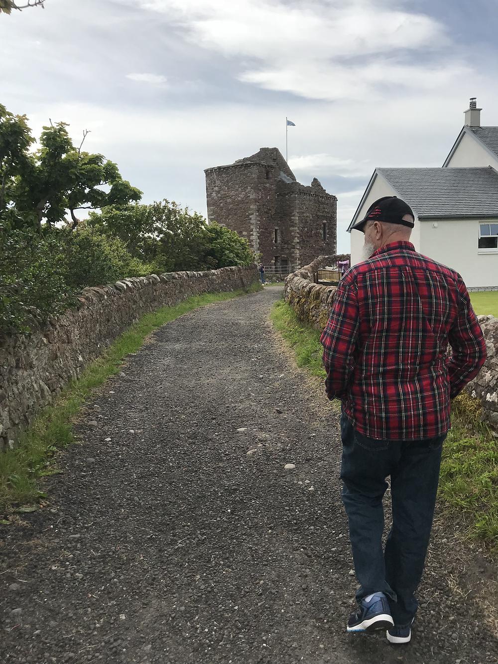 My friend Larry in Scotland