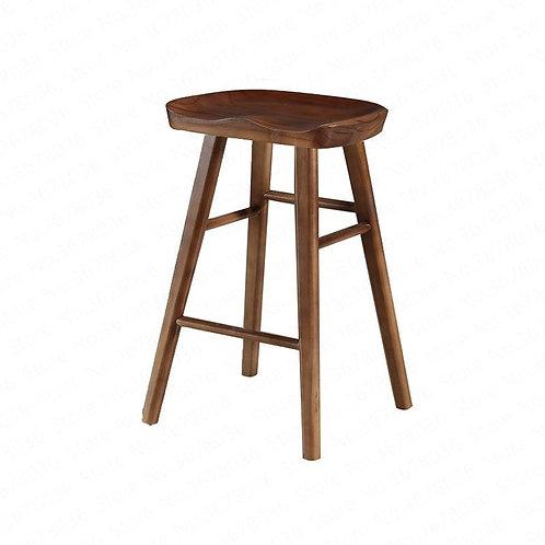 Stool Modern Minimalist Chair Solid Wood